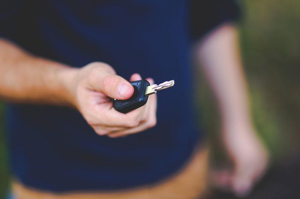 Starta bilen, det är dags för inledande manövrering